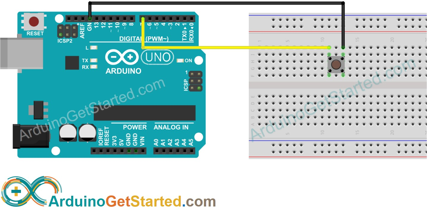Arduino Button Library Wiring Diagram