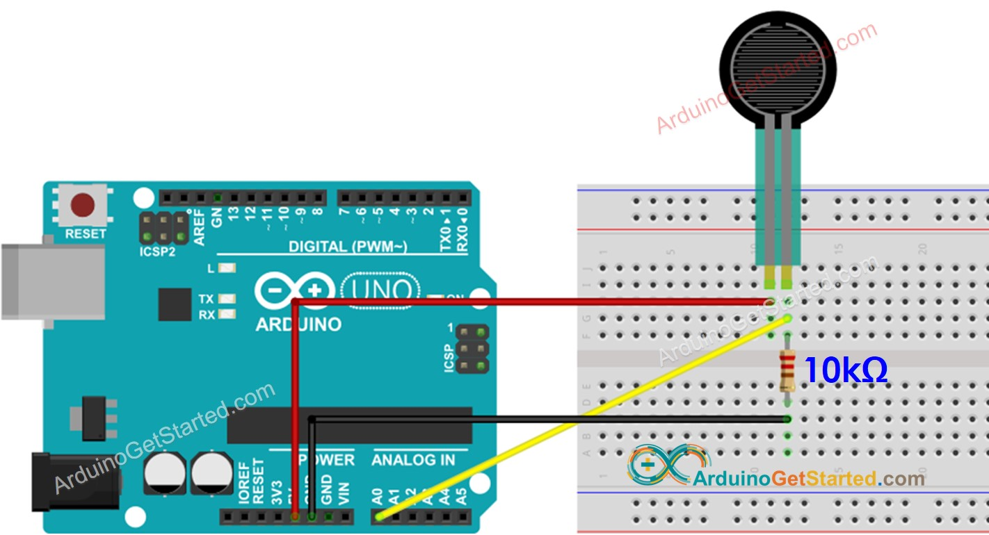 Arduino Force Wiring Diagram