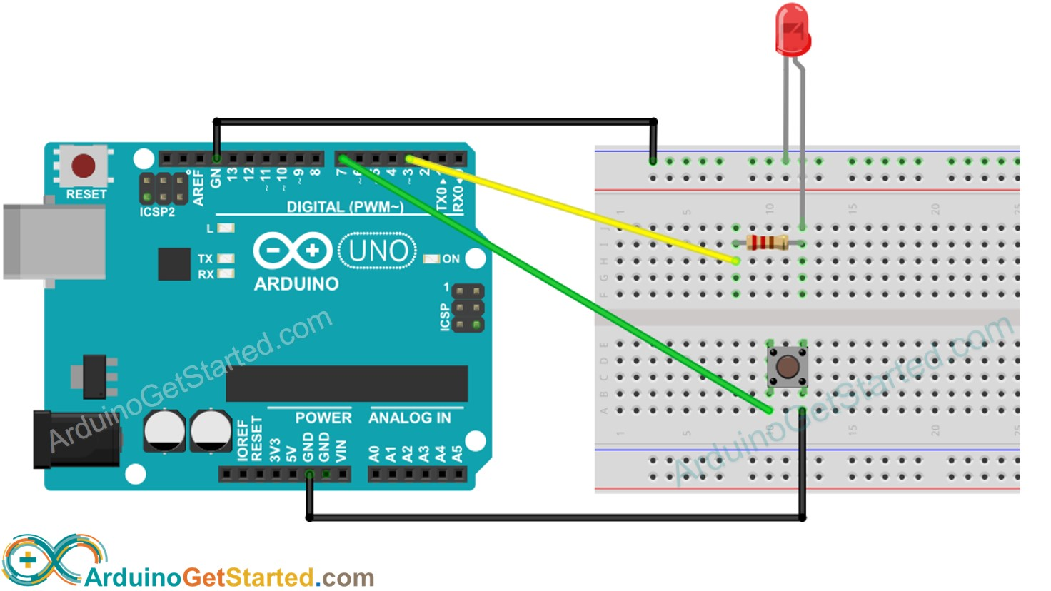 Arduino - Button