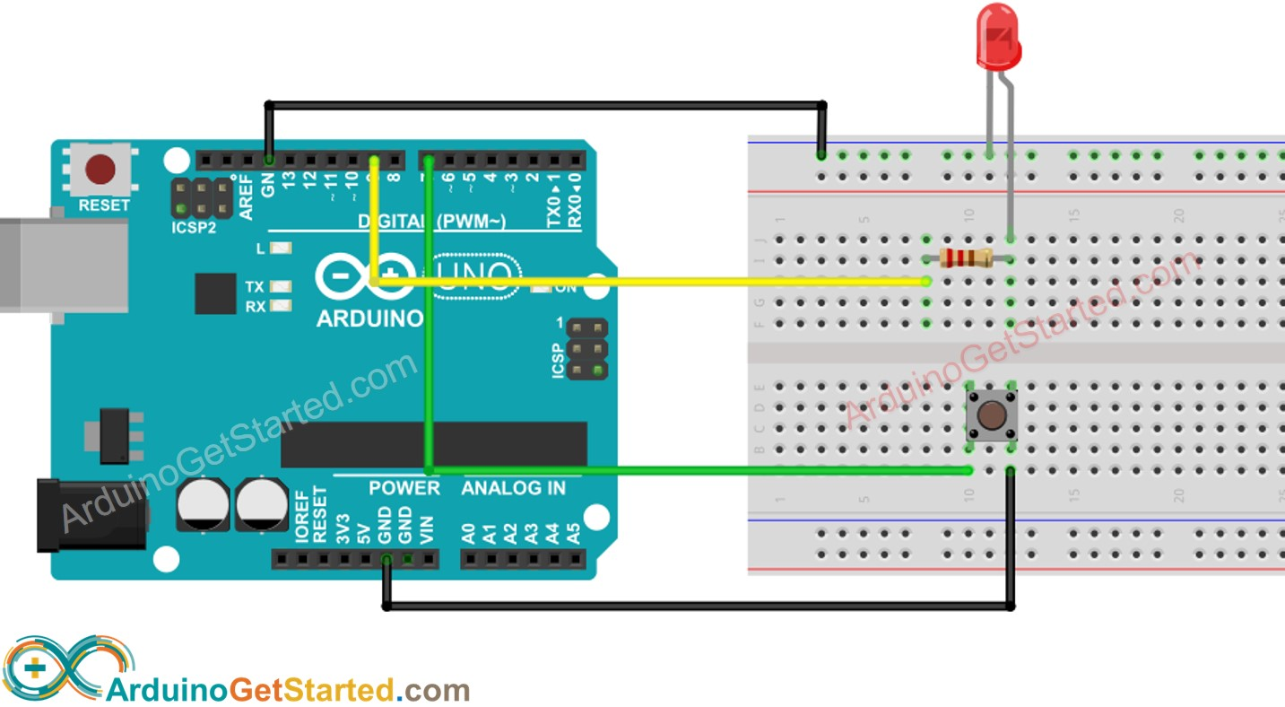 Arduino Output Library Wiring Diagram